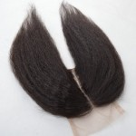kinky-straight-coarse-yaki-lace-closure-4-4-size-free-middle-three-part-Brazilian-hair